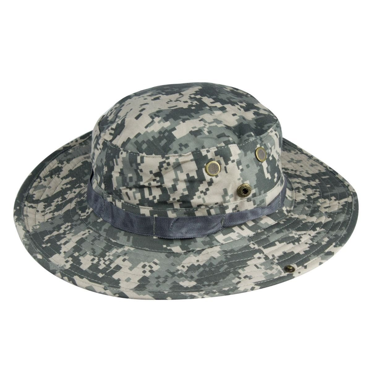 Infantry Militray Camoflage Boonie-Bush Hat Patrol Combat Army Ripstop Filed Cap