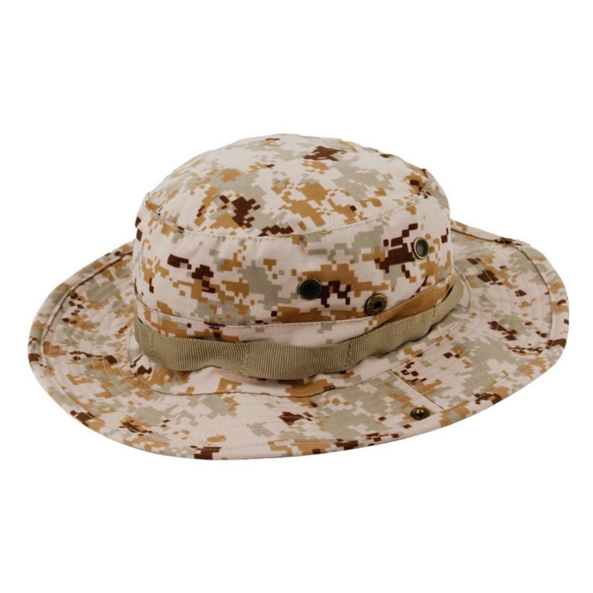 New Infantry Camoflage Boonie Hat Outdoor Sport Bush Patrol Combat Cap Cotton