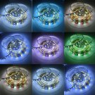 16.4ft 5M 5050 300leds RGBW RGB,Cool White Color Changing LED Strip Light