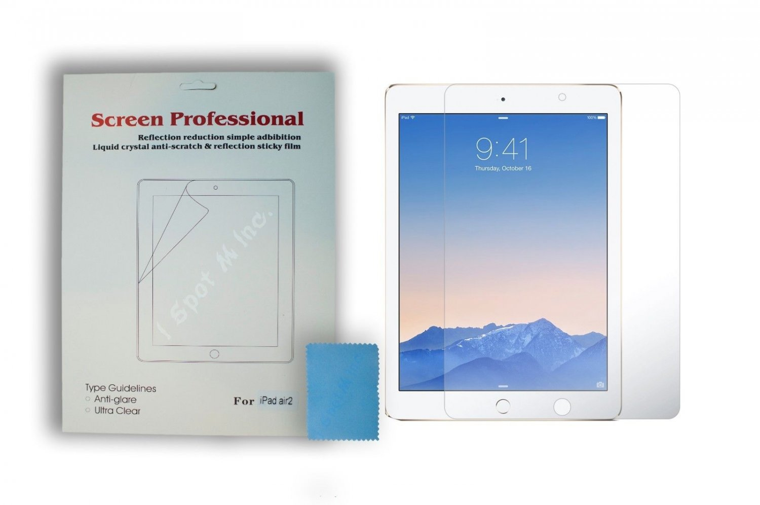 Apple iPad Air 2 iPad Air 6 6th Ultra Clear LCD Screen Protector