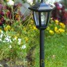 New 6 x Outdoor Garden 3-LED Antique Solar Landscape Light