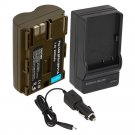 New BP-511A Battery and Charger for Canon PowerShot G1 G2 G3 Optura 10 20