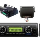 New Pyle Marine Boat Yacht In Dash USB MP3 AUX AM FM Radio Receiver,Housing