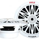 "Pyle PLMR82 300 Watts 8"" 2 Way White Marine Boat Waterproof Speakers System"
