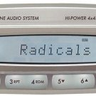 JBL Marine AM-FM Radio CD Player Waterproof Marine Receiver 4 x 45 Watt - MR18.5