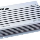 New Pyle PLMRA200 2 Channel 400 Watt Bridgeable Waterproof Marine Amplifier