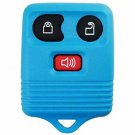 New Light Blue Keyless Entry Remote Key Fob Clicker Transmitter