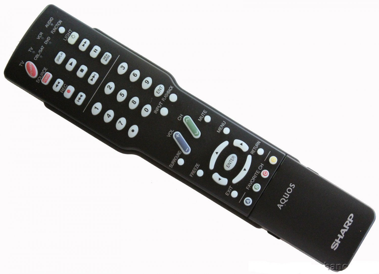 New Sharp GA416WJSB AQUOS LCD TV Remote