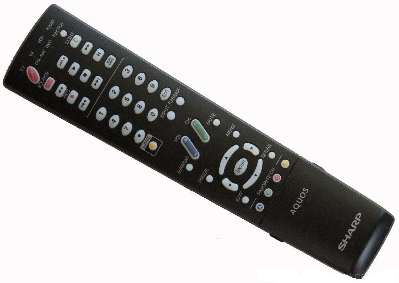 New SHARP GA678WJSA or RRMCGA678WJSA AQUOS LCD TV Remote