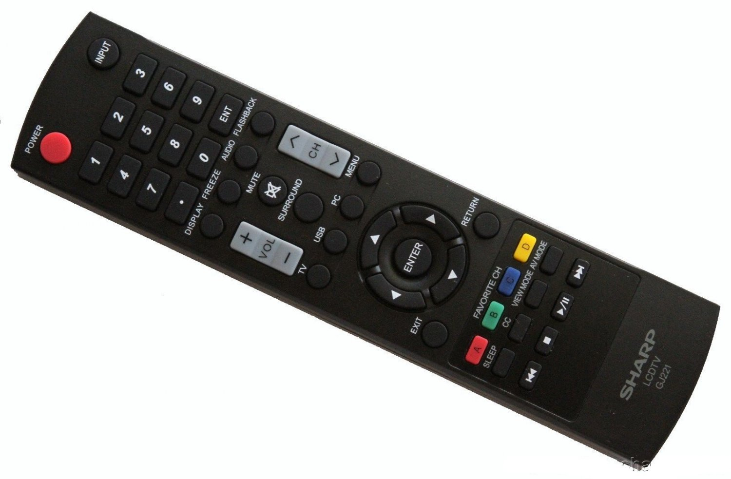 New In Original Sharp GJ221 LCD TV Remote