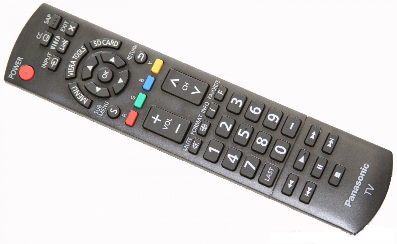 new panasonic n2qayb000485 hdtv remote control