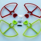 New 2RED 2GREEN SNAP PROP GUARDS QUICK RELEASE DJI PHANTOM PRO VISION