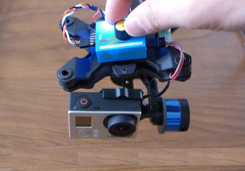 Handheld Brushless Gimbal Tilt Control Module Pitch Knob Steadycam Tarot T-2D