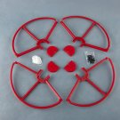 4x Red SNAP ON-OFF PROP GUARDS QUICK RELEASE DJI PHANTOM ALL VERSION