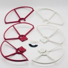 Set of 6 Red-White Snap on Prop Guards DJI Phantom 3 All Version Incl 2 Spares