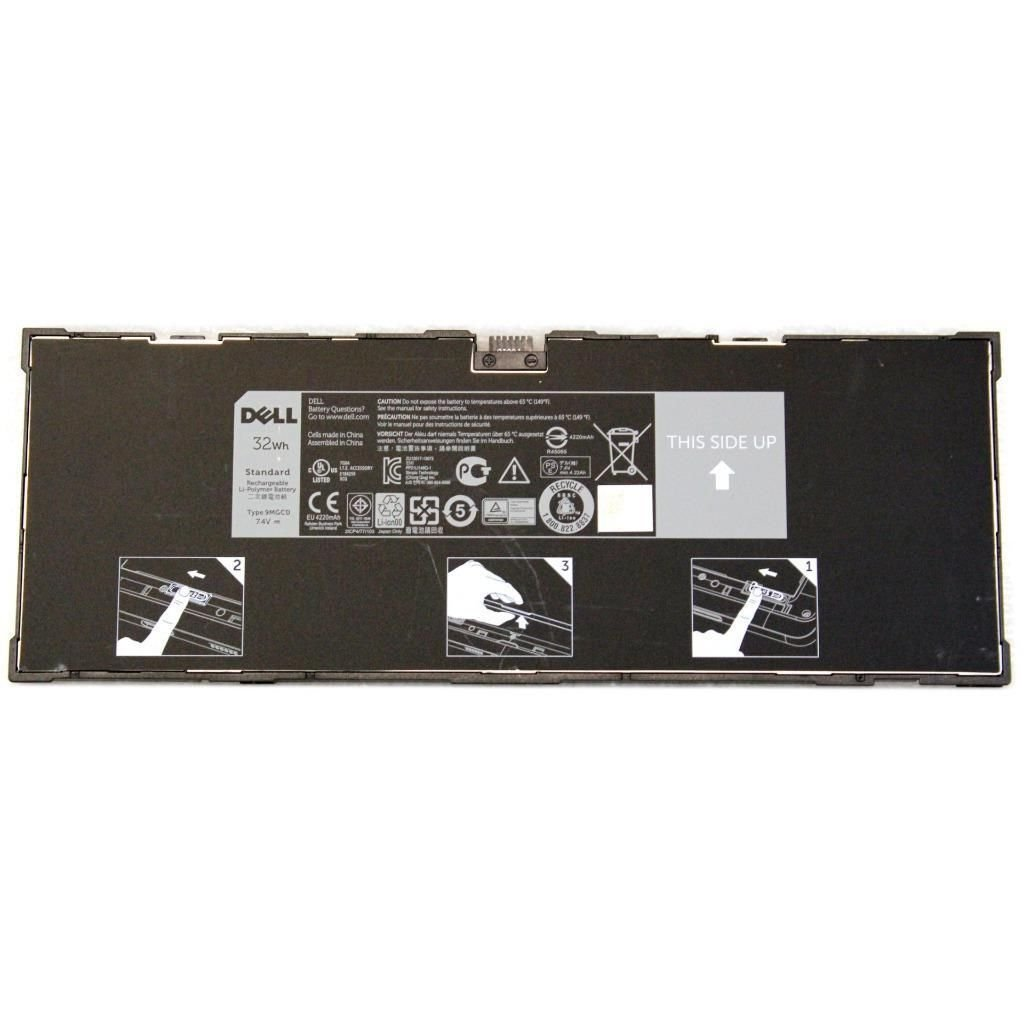 New Genuine Dell Venue 11 Pro 5130 32Wh 7.4V 9MGCD T8NH4 Battery