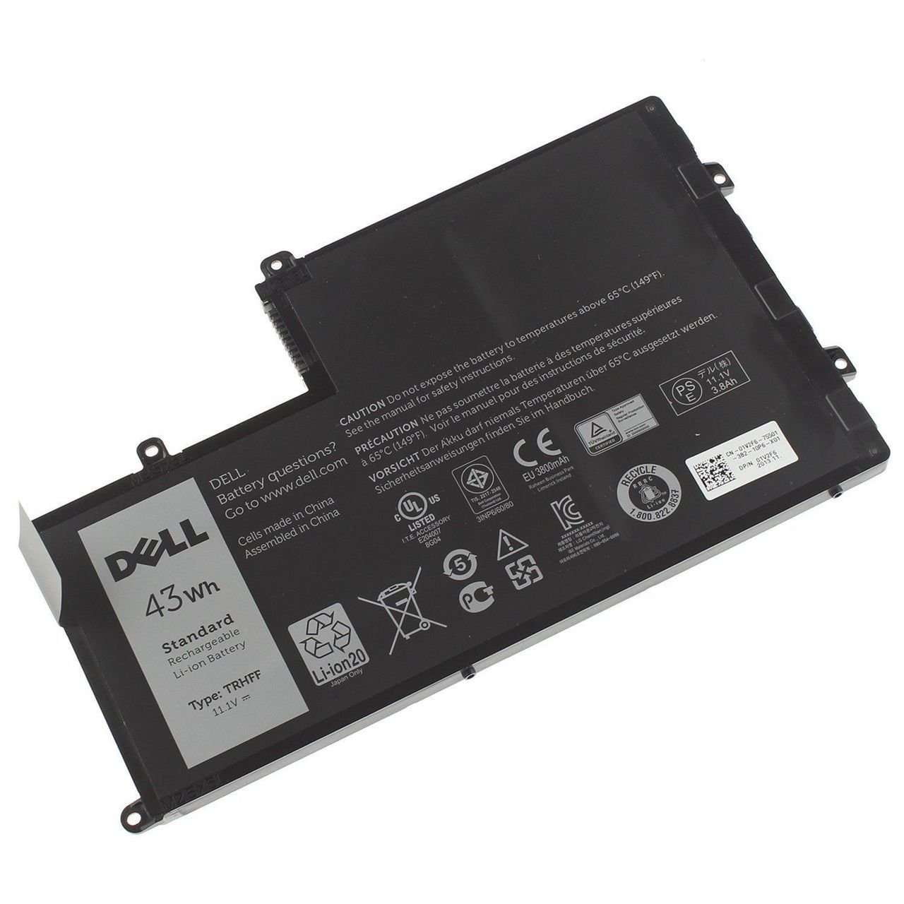 Genuine Dell Inspiron 15 5547 TRHFF 1V2F6 01V2F 1WWHW 43Wh ...