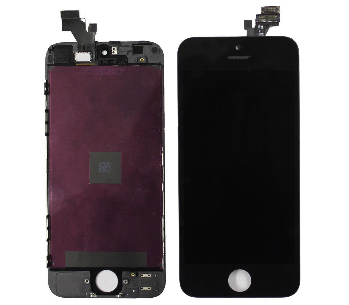 New OEM Apple iPhone 5 LCD Screen Touch Digitizer With Frame Black