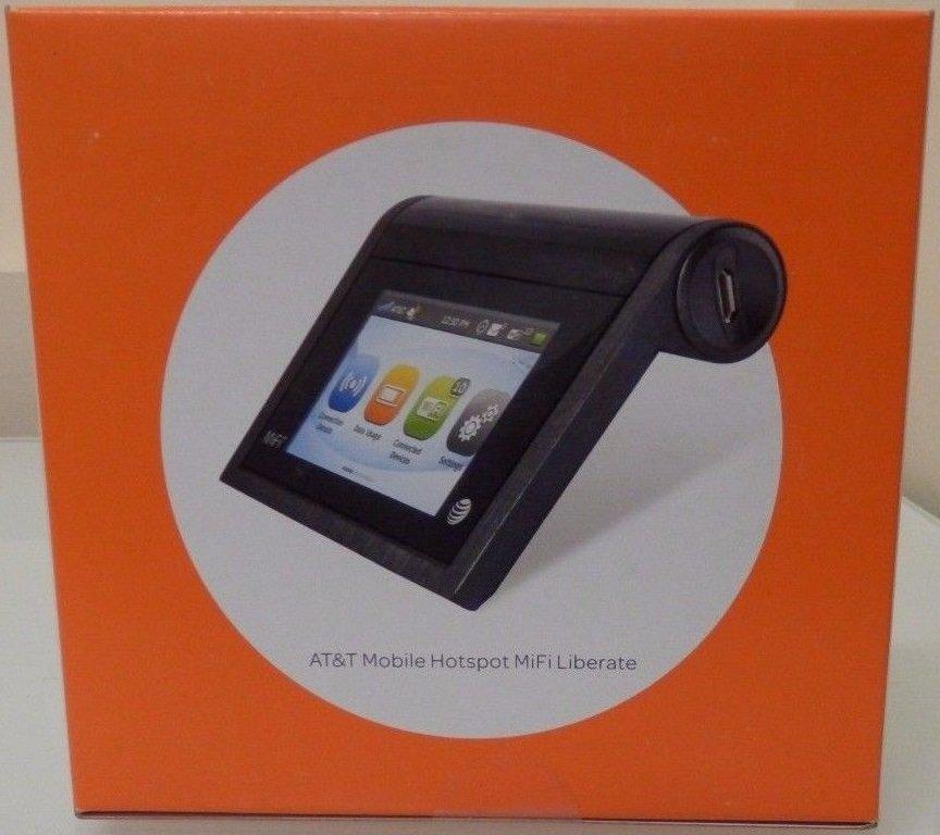 MiFi Unlocked 5792 Liberate AT&T 4G LTE Touchscreen Broadband Hotspot Mobile