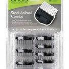 Andis Magnetic 24315 8 Piece Set Steel Comb