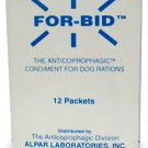 For-Bid for DOGS Stop Stool Eating Coprophagic 12 Packets