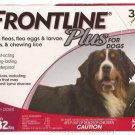Frontline Plus for Dogs 89-132 lbs 3 Pack