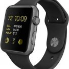 Apple Watch Sport 42mm Space Gray Aluminum Case Black Sport Band