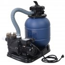 "New Pro 2400GPH 13"" Sand Filter Above Ground 10000GAL Swimming Pool Pump Goplus"