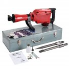 Goplus Heavy Duty 1500W Electric Demolition Jack Hammer Concrete Breaker Punch