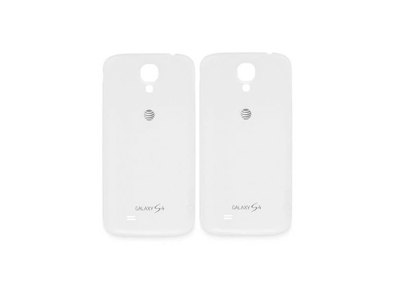Lot of 2 Genuine Samsung Galaxy S4 AT&T Battery Back Door Cover White
