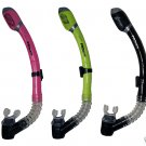 New Scuba Diving Snorkeling 100% Totally Dry Snorkel