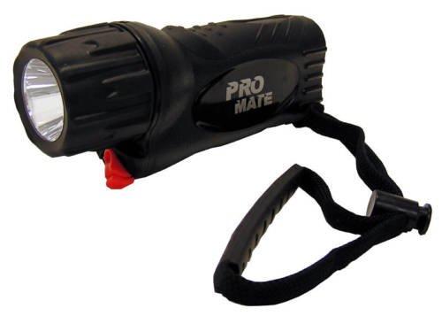 Promate Phantom 5W Underwater Scuba Dive LED Light Torch Gear - Black