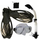 Promate Sea Viewer Snorkeling Diving Gear Package Gift Set Clear