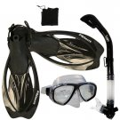 Promate Sea Viewer Snorkeling Diving Gear Package Gift Set Clear/Black