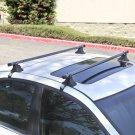 "48"" Telescopic Car Top Roof Cross Bars Crossbars Luggage Cargo Rack"