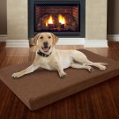 "Large Memory Foam Dog Bed With Removable Cover 46"" X 27"""
