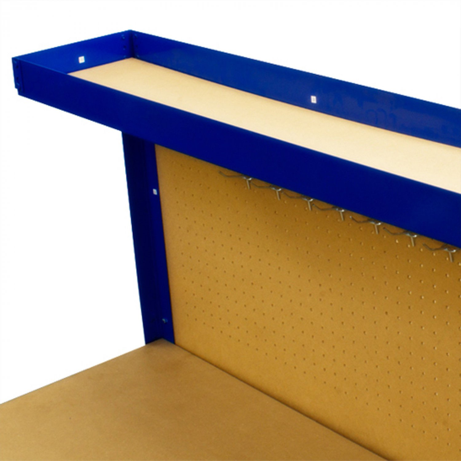 New work Bench Tool Storage With Drawers and Peg Boar Solid Steel Construction