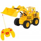RC Remote Control Construction Tractor With Lights & Sounds 5 Channel Kids Toy