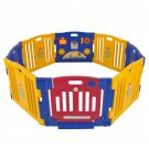 New Pen Baby Playpen Kids 8 Panel Safety Play Center Yard Home Indoor Outdoor