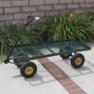 Wagon Garden Cart Nursery Trailer Heavy Duty Cart Yard Gardening Patio