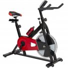 Exercise Bike Health Fitness Indoor Cycling Bicycle Cardio Workout W/ LCD Screen