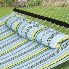 New Hammock Quilted Fabric With Pillow Double Size Spreader Bar Heavy Duty
