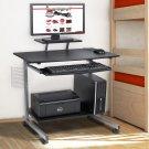 Computer Desk Cart PC Laptop Table Portable Workstation Desk Student Dorm Office