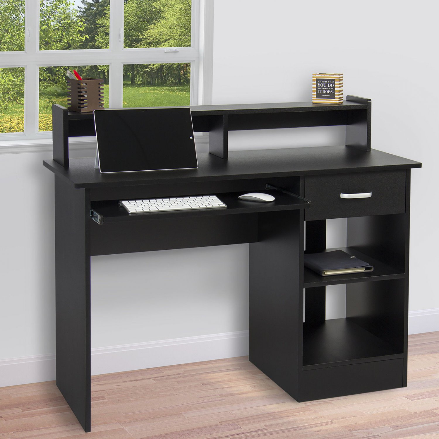 Computer Desk Home Laptop Table College Home Office Furniture Work Station Bk