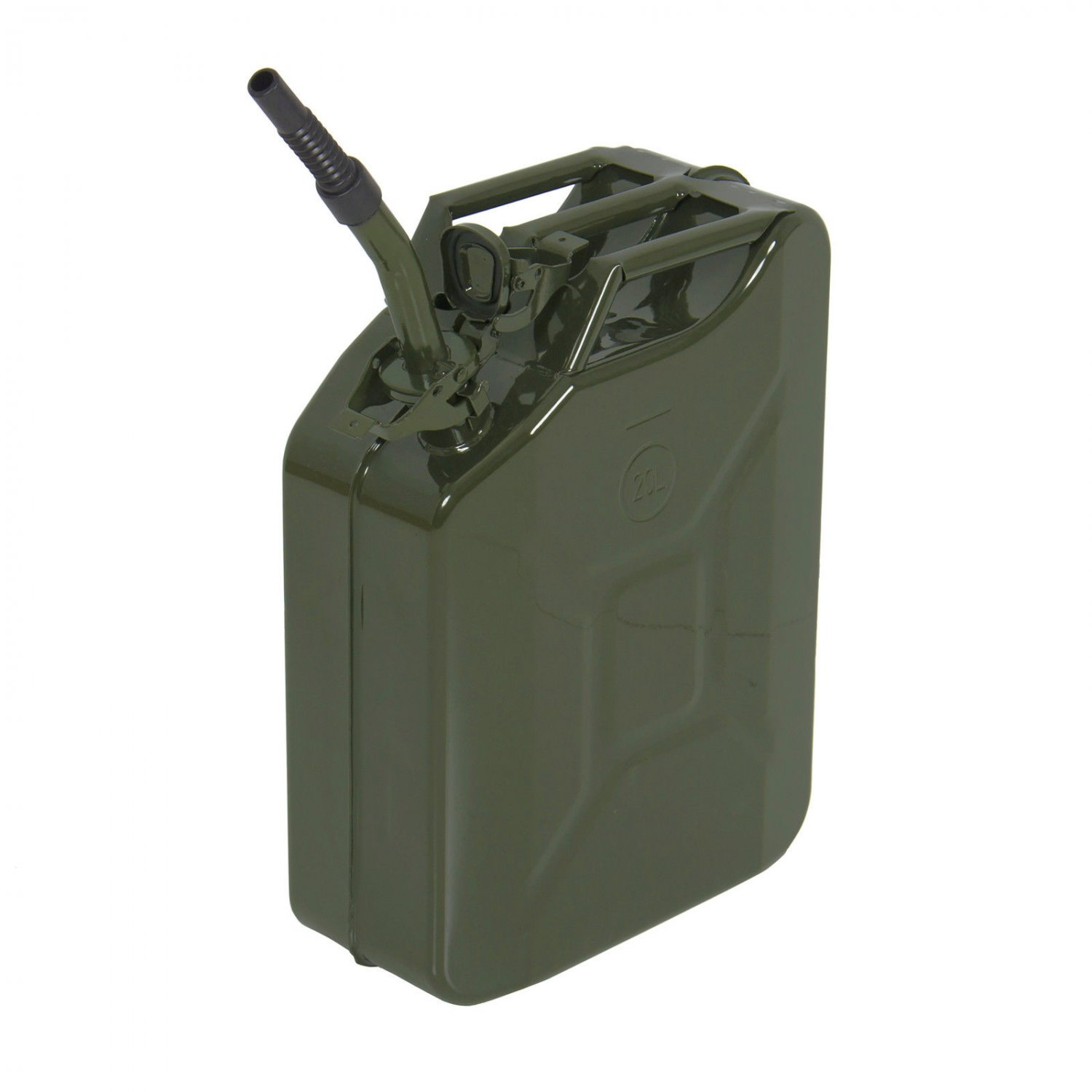 5 Gal 20L Jerry Can Gasoline Gas Fuel Can Emergency Backup Gas Caddy Tank