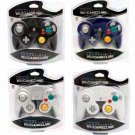 4 Brand New Controllers for Nintendo Gamecube or Wii Black, White, Silver, Blue