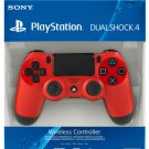 New Official DualShock PS4 Wireless Controller for PlayStation 4 - Magma Red