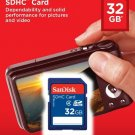 New SanDisk 32GB SD SDHC Class 4 Flash Memory Card