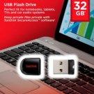 SanDisk 32GB Cruzer FIT USB 2.0 Flash Mini Pen Drive SDCZ33-032G