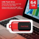 SanDisk 64GB Cruzer SWITCH USB Flash Pen Thumb Drive SDCZ52-064G